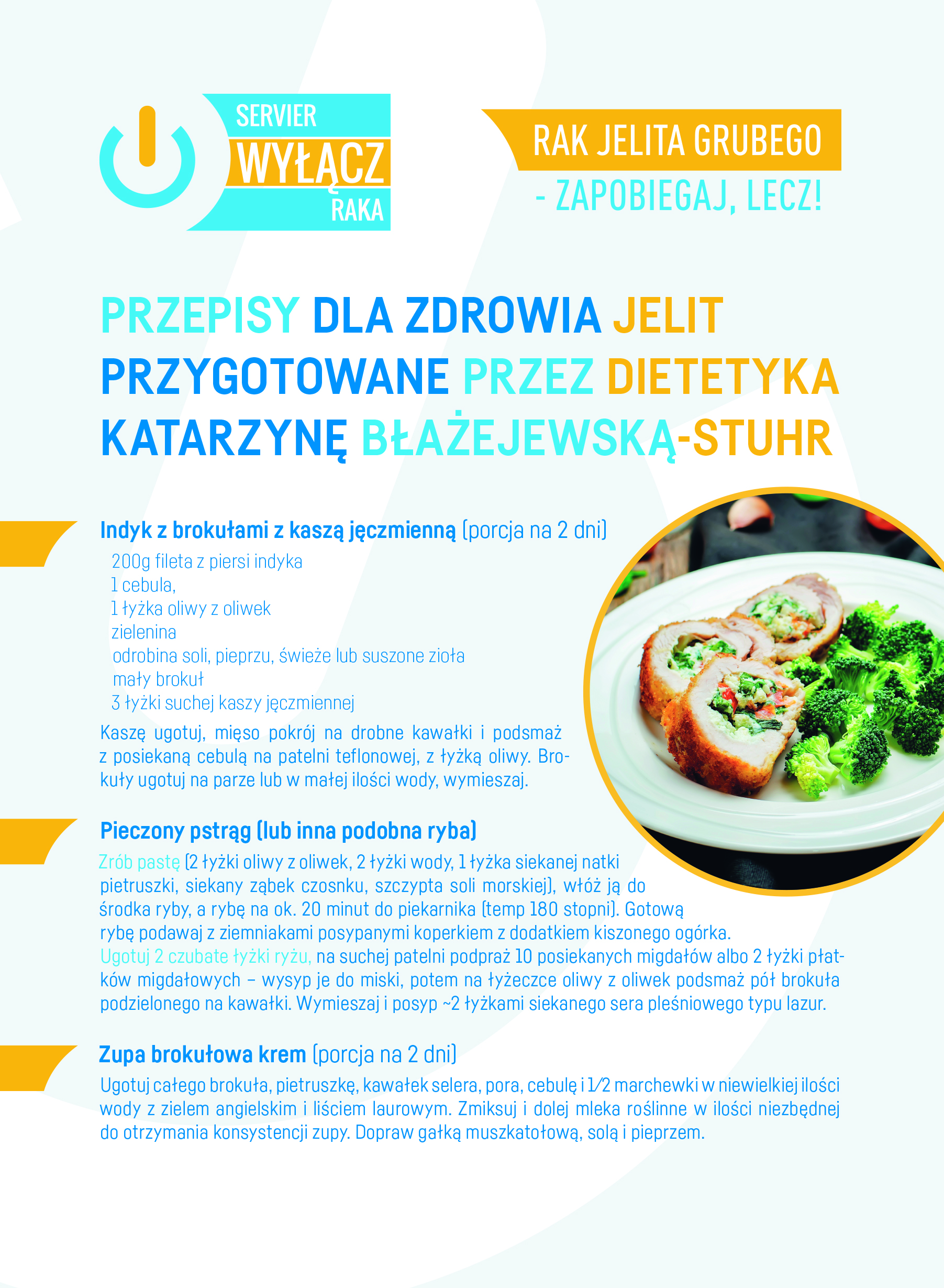 Zdrowa Dieta Przepisy Wylacz Raka Kampania Spoleczna